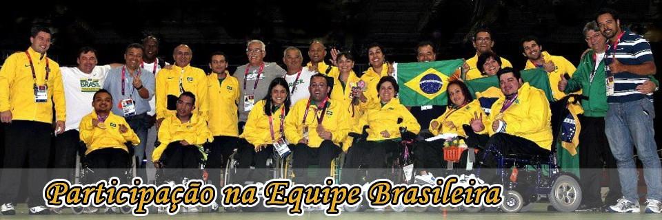 Participação na Equipe Brasileira